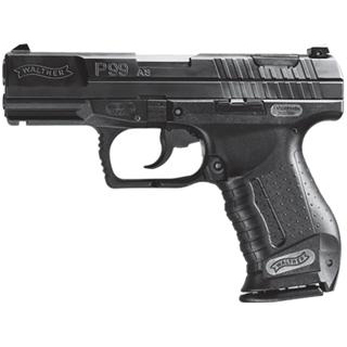 Walther Arms 2796325 P99 Standard 9mm Luger Double 4 15+1 Black Polymer Grip Black Tenifer Slide in.