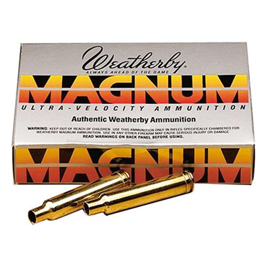Weatherby BRASS333 Unprimed Brass 338-378 Weatherby Mag Lightweight 20 Per Box