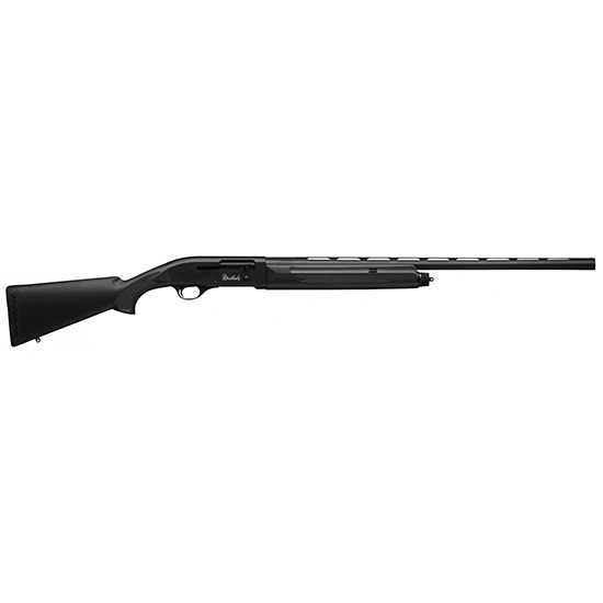 Weatherby SA08S1226PGM SA-08 Synthetic Semi-Automatic 12 Gauge 26 3 in.  Black Synthetic Stk Black Aluminum Alloy Matte Black in.