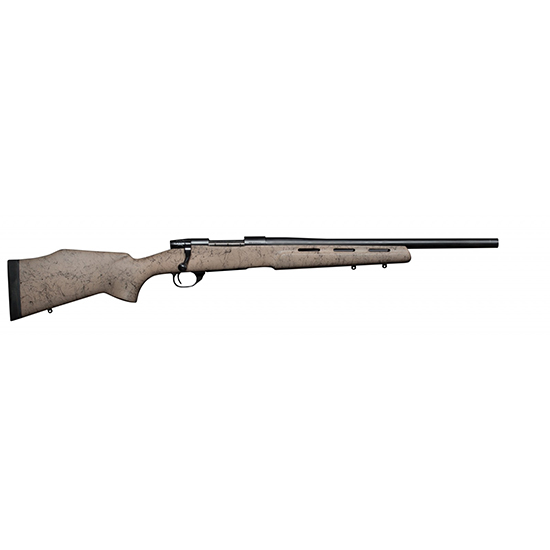 Weatherby VDN65CMROT Vanguard H-BAR RC Bolt 6.5 Creedmoor 20 HB TB 4+1 Synthetic Tan w|Black Web Stk Blued in.