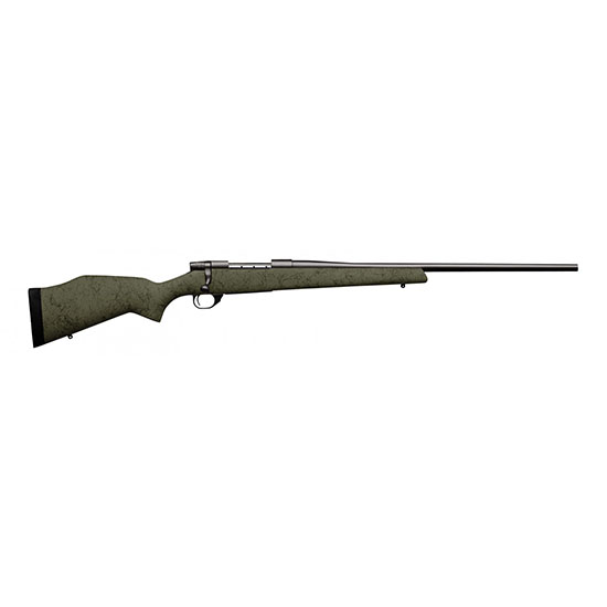 Weatherby VMT65CMR4O Vanguard RC Bolt 6.5 Creedmoor 24 4+1 Synthetic Green w|Black Web Stk Blued in.