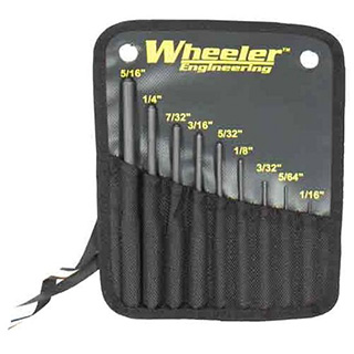 Wheeler Engineering ROLL PIN PUNCH SET