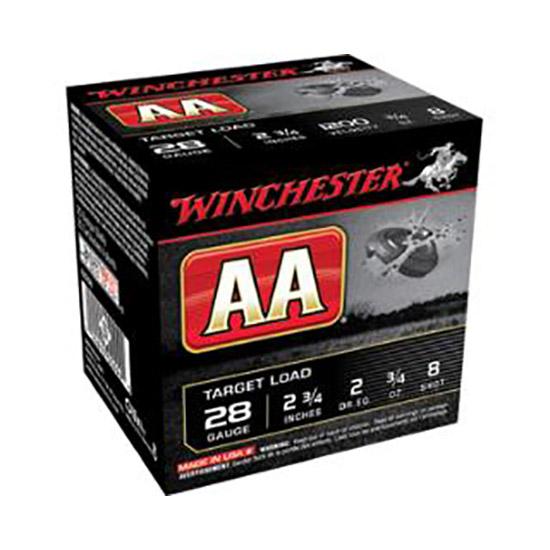 Winchester Ammo AA289 AA Target Loads 28 Gauge 2.75 3|4 oz 9 Shot 25 Bx| 10 Cs in.