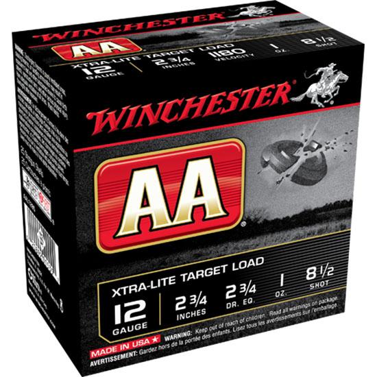 Winchester Ammo AAL1285 AA Target Loads 12 Gauge 2.75 1 oz 8.5 Shot 25 Bx| 10 Cs in.