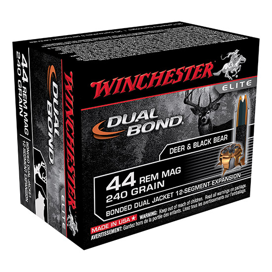 Winchester Ammo S4570DB Supreme 45-70 Government 375 GR Dual Bond 20 Bx| 10 Cs