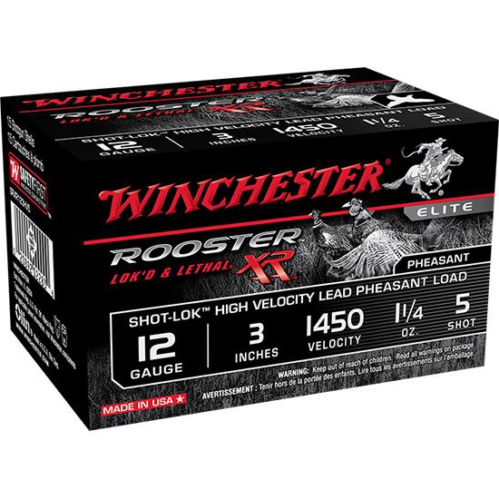 Winchester Ammo SRXR123HV5 Rooster XR 12 Gauge 3 5 Shot 15 Bx| 10 Cs in.