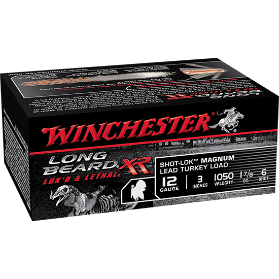 Winchester Ammo STLB123M6 Long Beard XR 12 Gauge 3 1-7|8 oz 6 Shot 10 Bx| 10 Cs in.