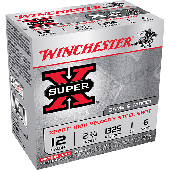 Winchester Ammo WE12GT6 Expert 12 Gauge 2.75 1 oz 6 Shot 25 Bx| 10 Cs in.