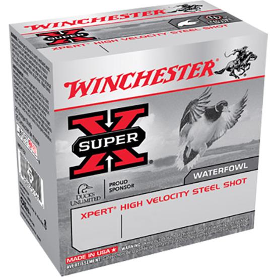 Winchester Ammo WEX123M2 Expert Hi-Velocity 12 Gauge 3 1-1|16 oz 2 Shot 25 Bx| 10 Cs in.