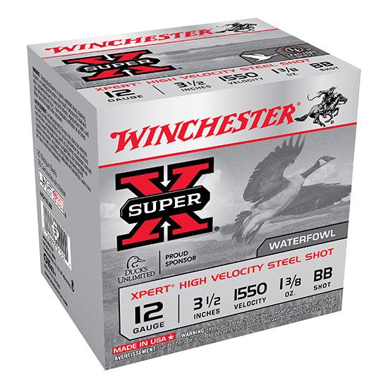 Winchester Ammo WEX12LBB Expert Hi-Velocity 12 Gauge 3.5 1-3|8 oz BB Shot 25 Bx| 10 Cs in.