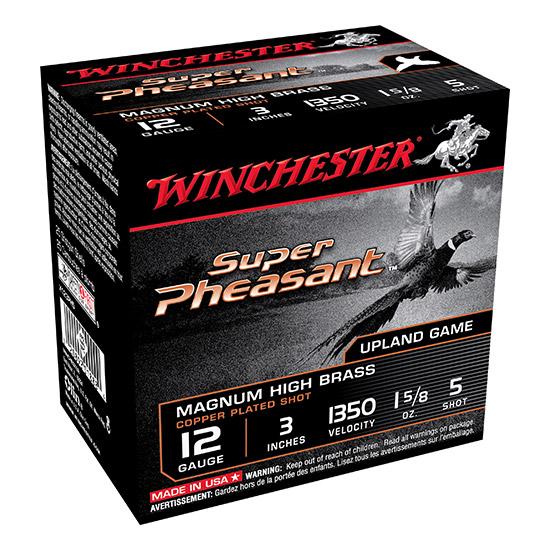 Winchester Ammo X123PH5 Super Pheasant Plated HV 12 Gauge 3 1-5|8 oz 5 Shot 25 Bx| 10 Cs in.