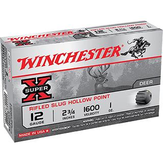 Winchester Ammo X12RS15LF Super-X 12 Gauge 2.75 1 oz Slug Shot 5 Bx| 50 Cs in.