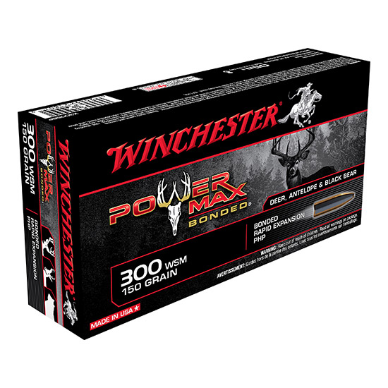 Winchester Ammo X300SBP Super-X 300 Winchester Short Magnum 150 GR Power Max Bonded 20 Bx| 10 Cs