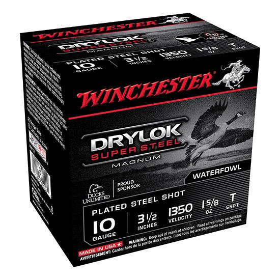 Winchester Ammo XSC10T Drylock 10 Gauge 3.5 1-5|8 oz T Shot 25 Bx|10 Cs in.