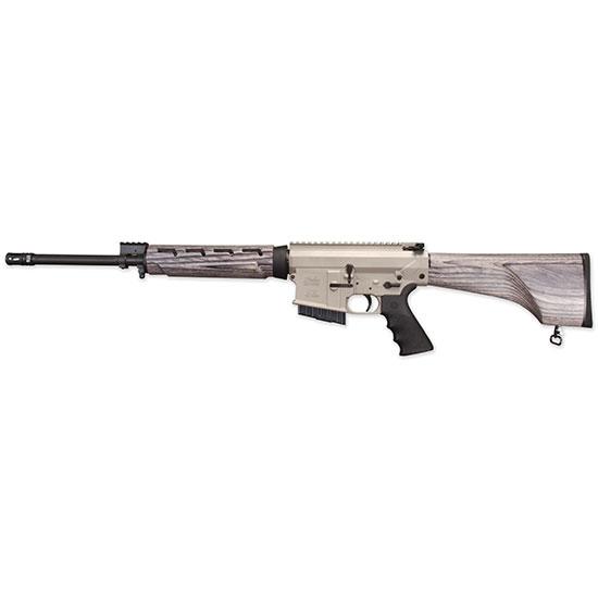 Windham Weaponry R18FFTWS1308 308 Hunter A2 Suppressor Semi-Automatic 308 Winchester|7.62 NATO 18 5+1 Laminate Pepper Stk Nickel|Black in.