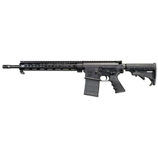 Windham Weaponry R18FSFST308 SRC 308 Semi-Automatic 308 Winchester|7.62 NATO 18 20+1 6-Position Black Stk Black Hard Coat Anodized in.