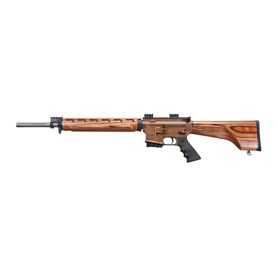 Windham Weaponry R20FSSFTWS2 R20 VEX Wood Stock Series Semi-Automatic 223 Remington|5.56 NATO 20 5+1 Laminate Wood Nutmeg Stk Brown|Stainless Steel in.
