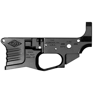 Yankee Hill 125BILLET Billet Lower Receiver AR-15 AR Platform 223 Remington|5.56 NATO Black Hardcoat Anodized
