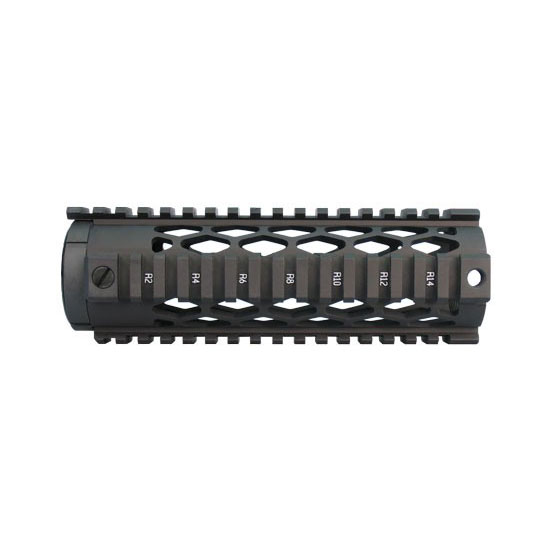 Yankee Hill 9630DX Diamond Series Forearm 7.3 AR-15 Aluminum Black in.