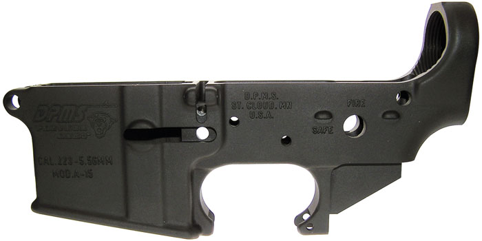 DPMS LRO5K .223|5.56 Stripped Lower AR-15 Black