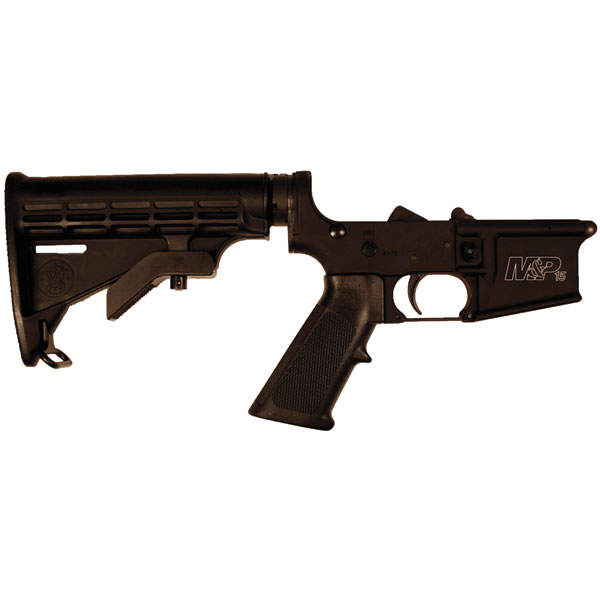 Smith & Wesson 812002 M&P15 Complete Lower Receiver AR-15 Rifle 223 Remington|5.56 NATO Black
