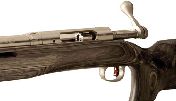 Savage 18637 Target Action Standard Caliber Bolt Head Right Bolt Left Load Right Eject Dual Port Stainless Steel