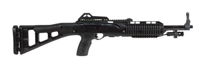 Hi-Point 4095LAZTS 4095TS Carbine Semi-Automatic 40 Smith & Wesson (S&W) 17.5 10+1 w|Laser Polymer Skeleton Black Stk Black in.