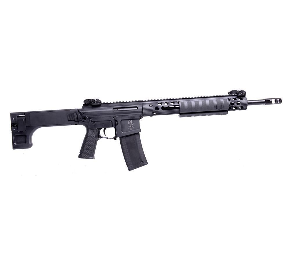 Troy SPMPAR000BT PAR Sporting Rifle Pump 223Rem|5.56 16 MB 10+1 5Pos Stk Black in.