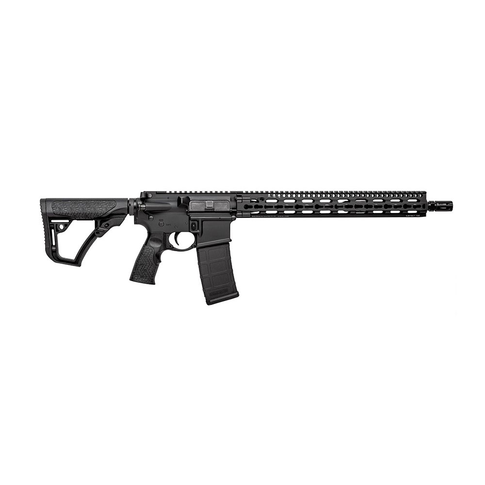 Daniel Defense 20026055 DDM4 V11 *CA Compliant* Semi-Automatic 223 Remington|5.56 NATO 16 10+1 6-Position Black Stk Kryptec Typhon in.