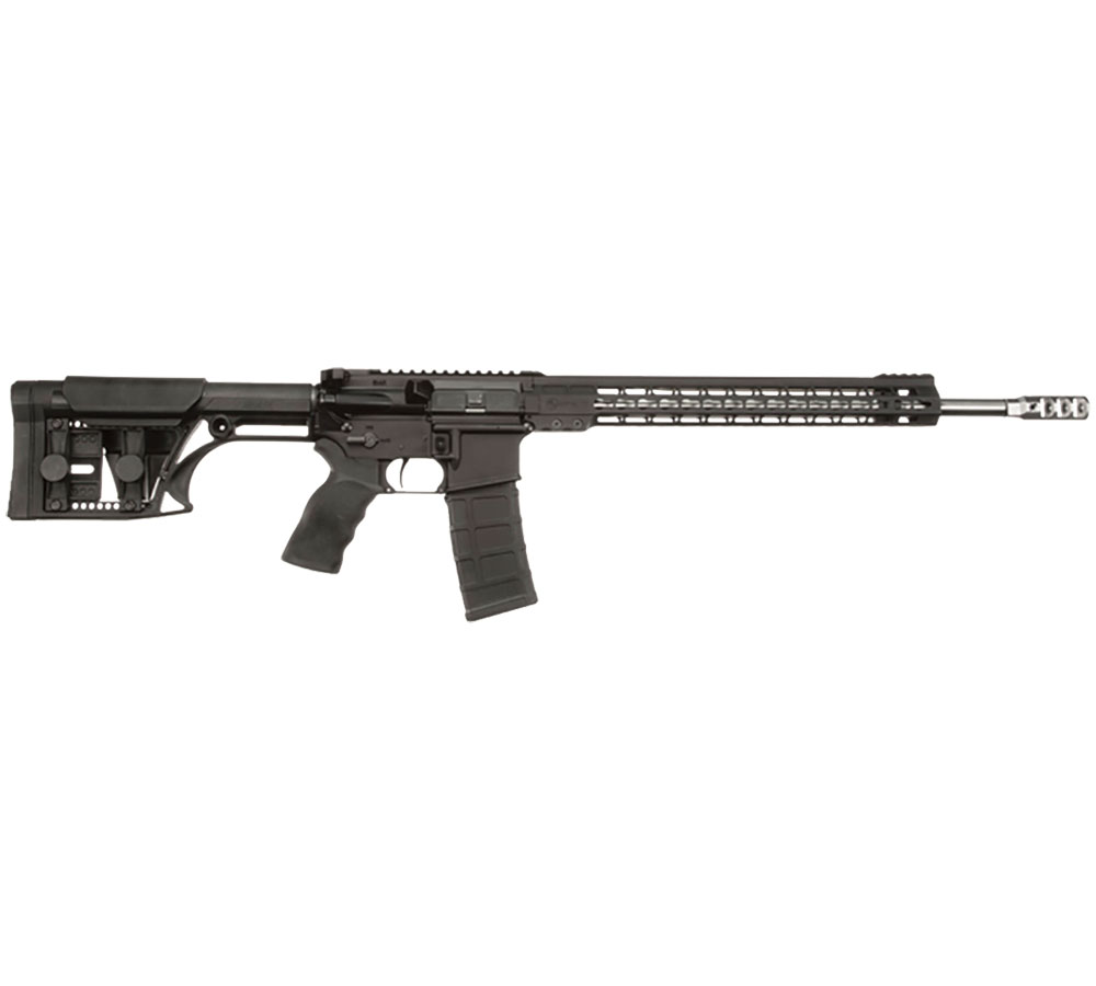 ArmaLite M153GN18 M-15 Competition Rifle Semi-Automatic 223 Remington|5.56 NATO 18 MB 30+1 MBA-1 Black Stk Black Hard Coat Anodized|Black Phosphate in.