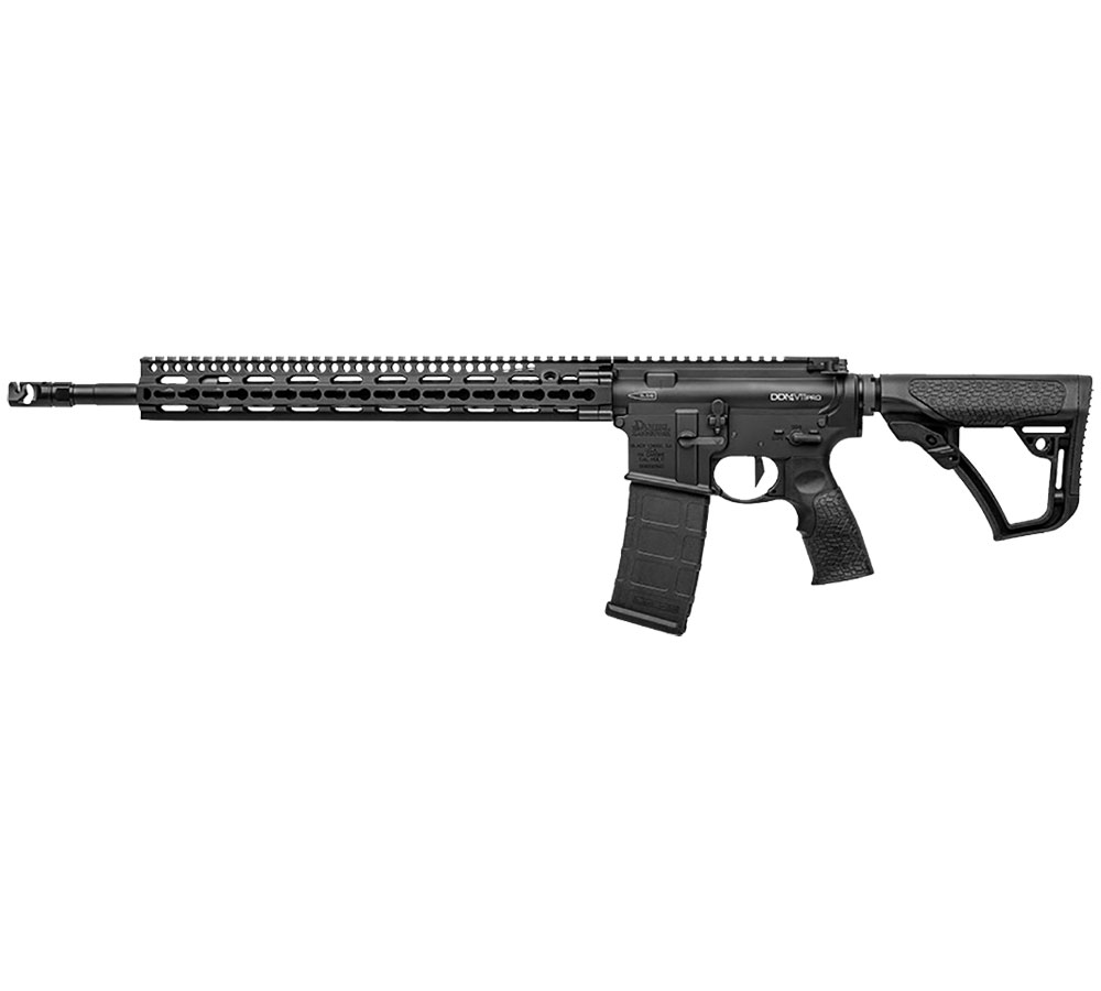 Daniel Defense 12033047 DDM4 V11 Pro Semi-Automatic 223 Remington|5.56 NATO 18 30+1 6-Position Black Stk Black Hardcoat Anodized|Black Phosphate in.