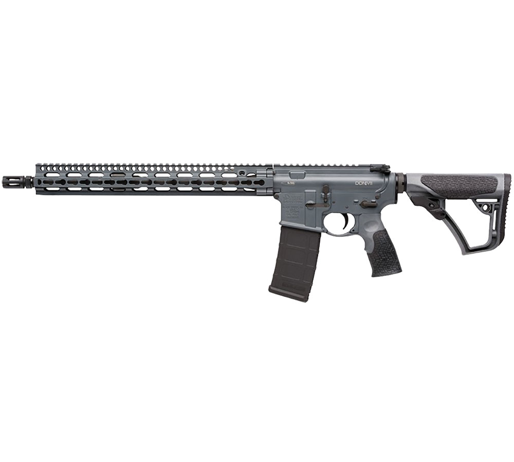 Daniel Defense 23026047 DDM4 V11 Semi-Automatic 223 Remington|5.56 NATO 16 30+1 6-Position Gray Stk Gray Cerakote|Black Phosphate in.