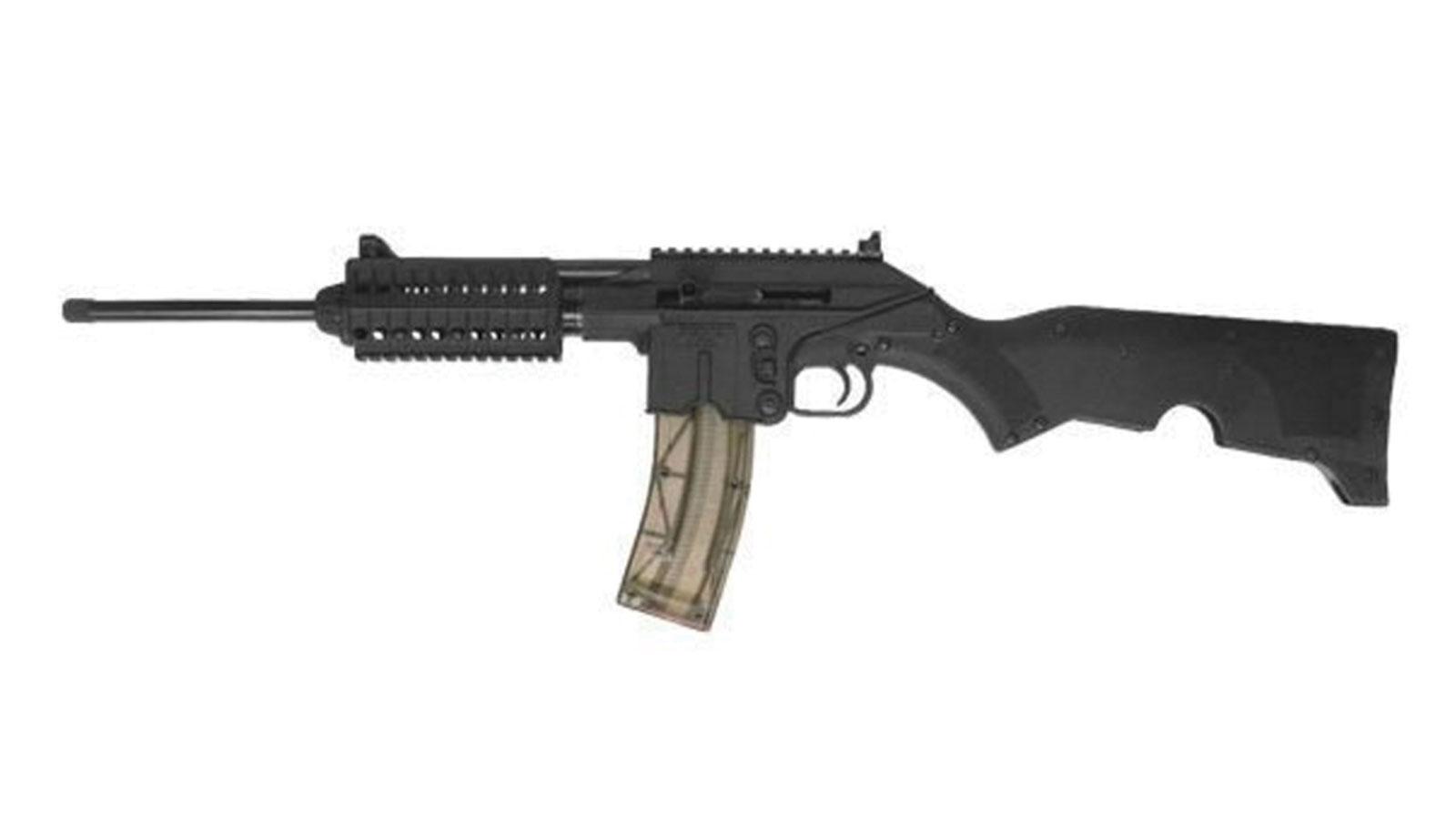 Kel-Tec SU22E SU22 Rifle SA 22 Long Rifle 16.1 26+1 Collapsible Stk Black in.