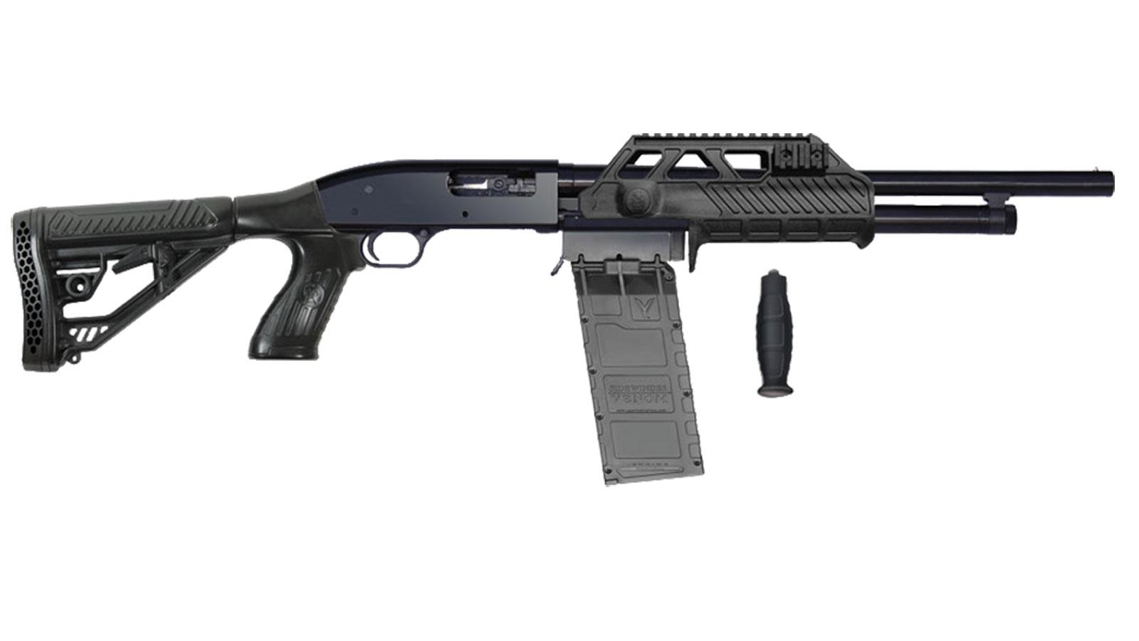 Adaptive Tactical Sidewinder Venom Maverick 88 Black 12 GA 18.5-inch 10Rd Box
