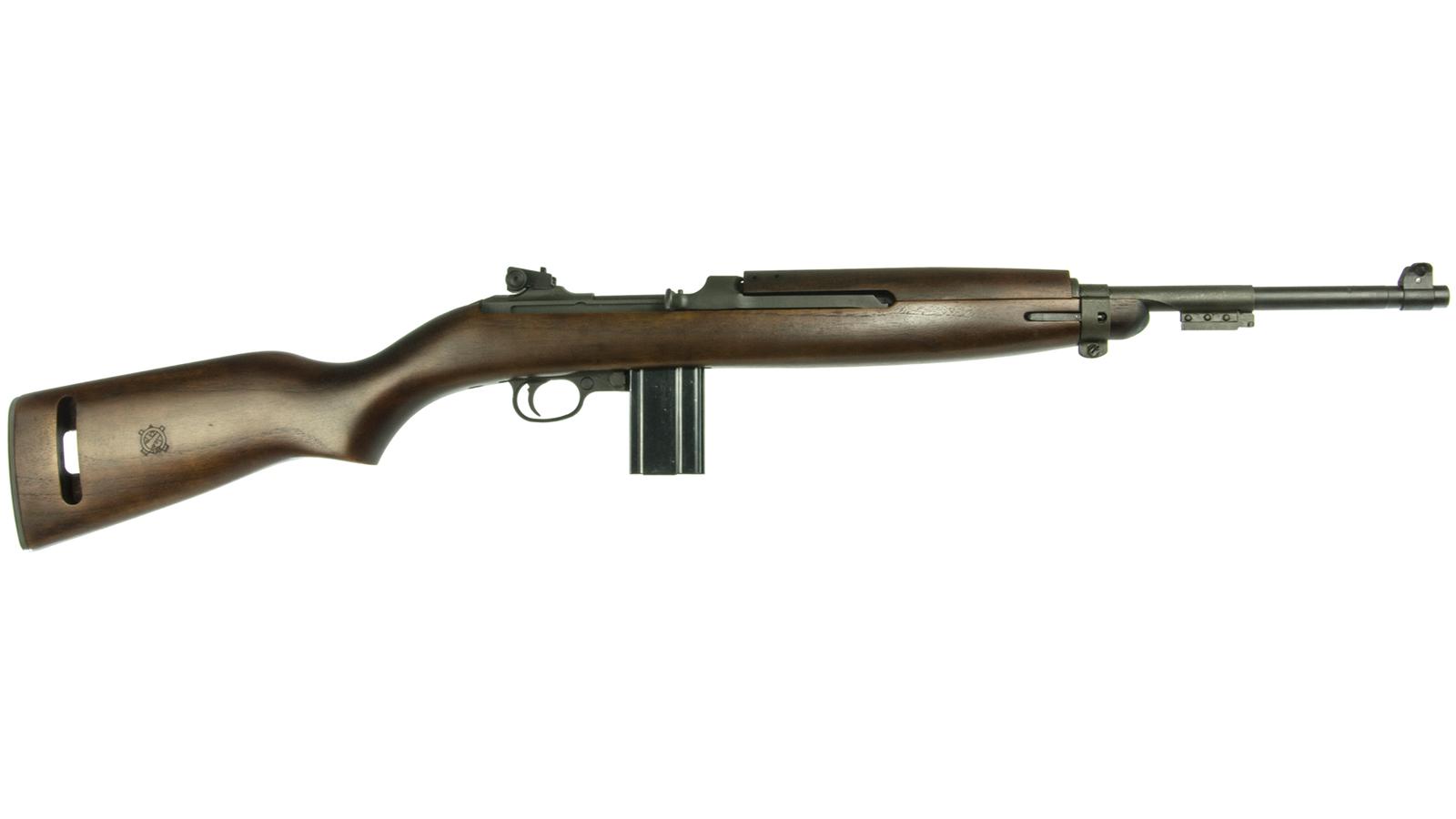 Inland Mfg ILM130 M1 1945 Carbine Semi-Automatic 30 Carbine 18 15+1 Walnut Stk Black in.