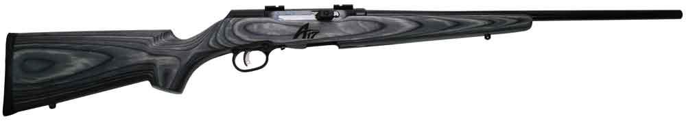 Savage 47008 A17 Sporter Semi-Automatic 17 Hornady Magnum Rimfire (HMR) 22 10+1 Laminate Gray Stk Blued in.