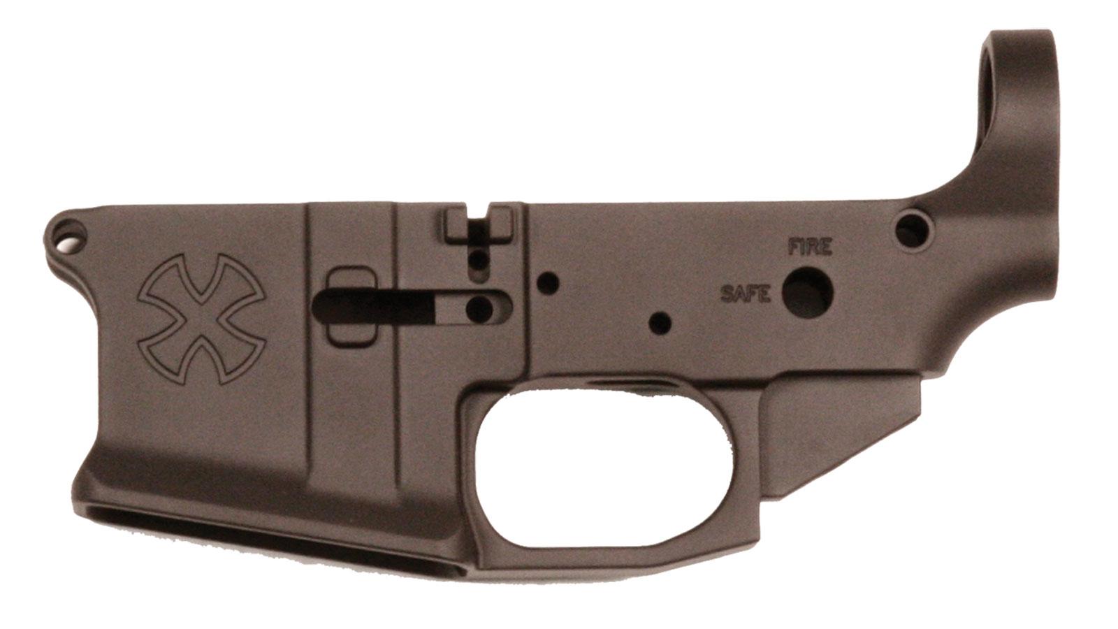 Noveske 04000008K AR-15 Stripped Lower Receiver Gen3 AR-15 Black Hardcoat Anodized
