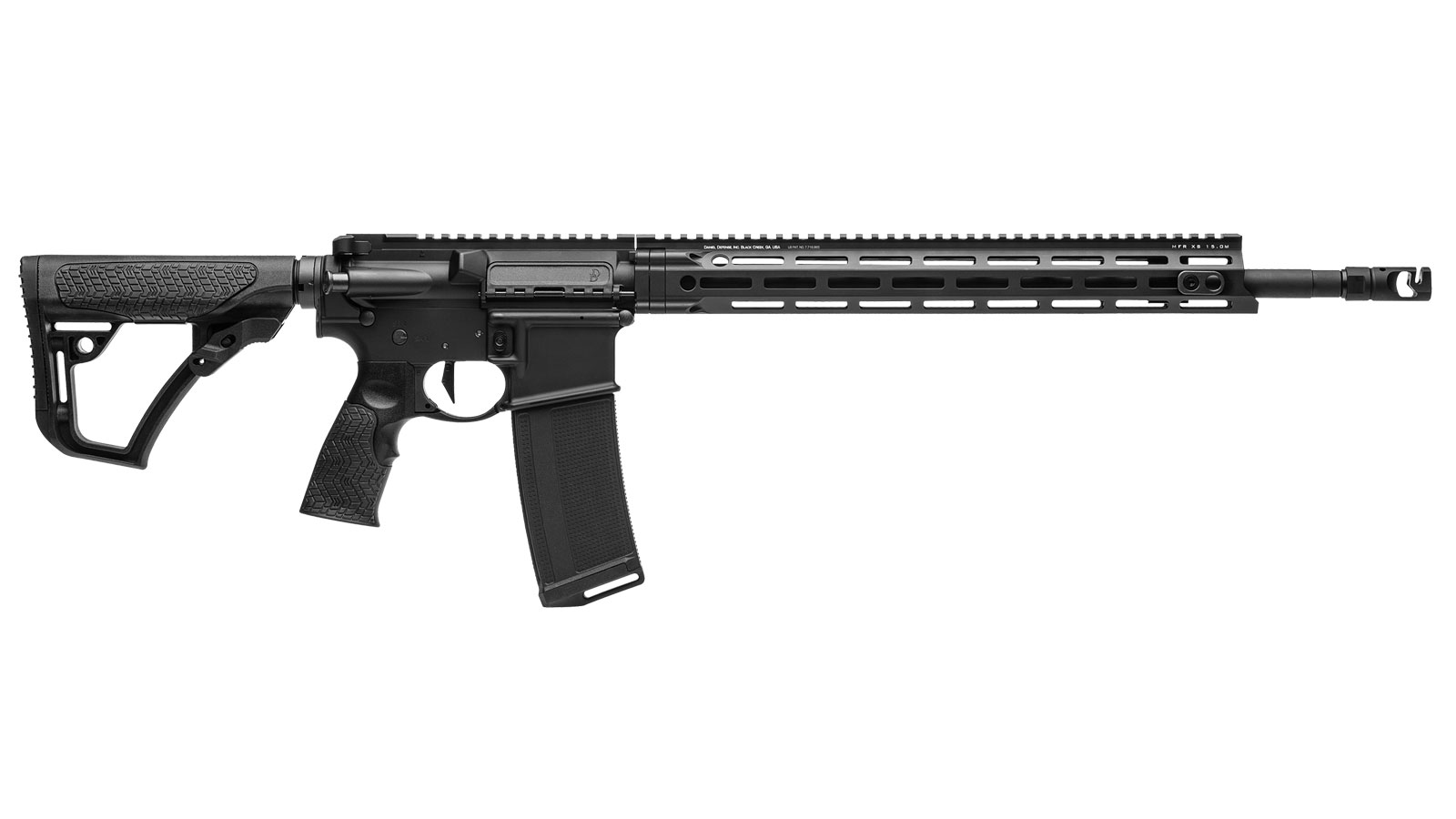 Daniel Defense 16541047 DDM4 V7 Pro Semi-Automatic 223 Remington|5.56 NATO 18 30+1 6-Position Black Stock Black in.