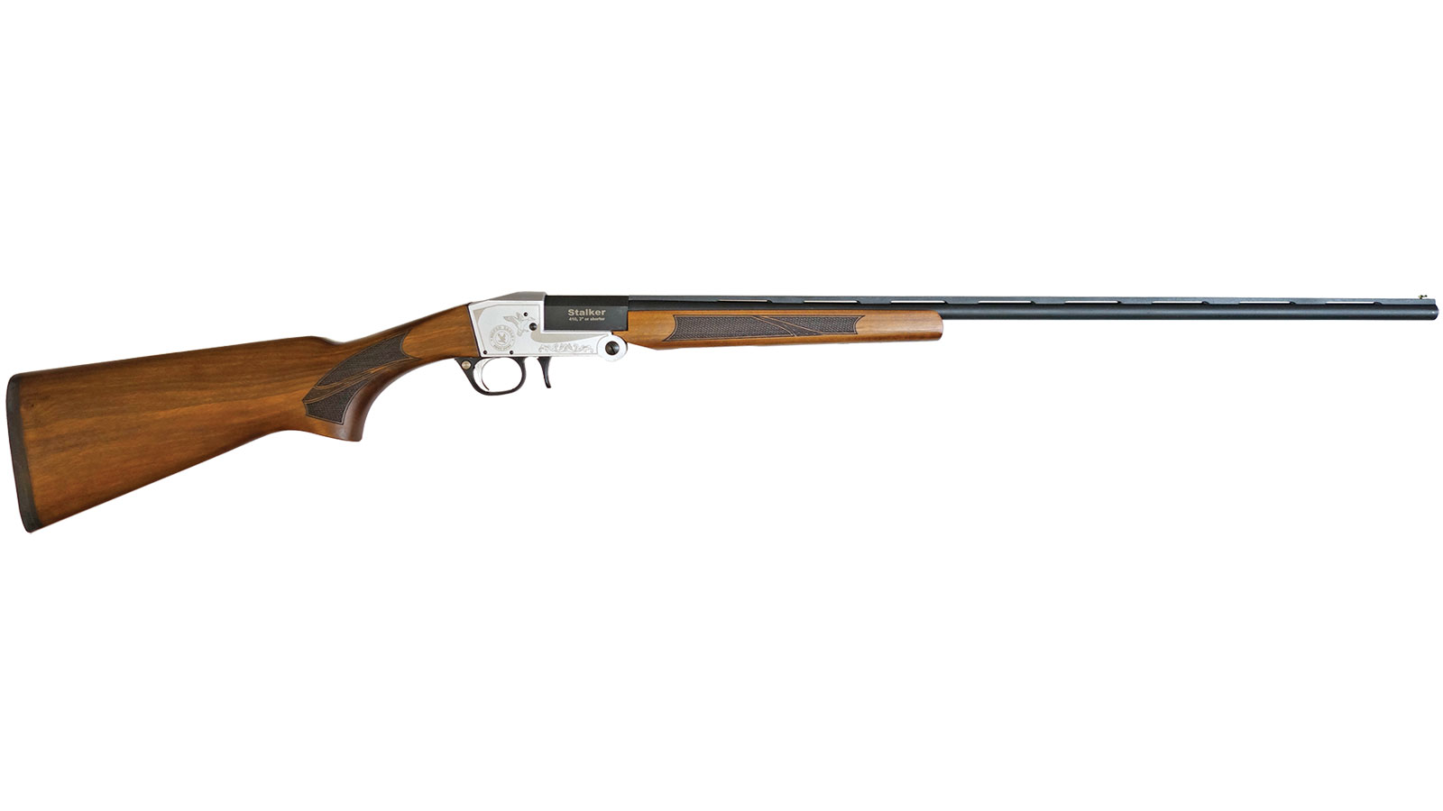 T R Imports TK3628 Silver Eagle Stalker Field Break Open 410 Gauge 28 3 in.  Turkish Walnut Stk Steel in.