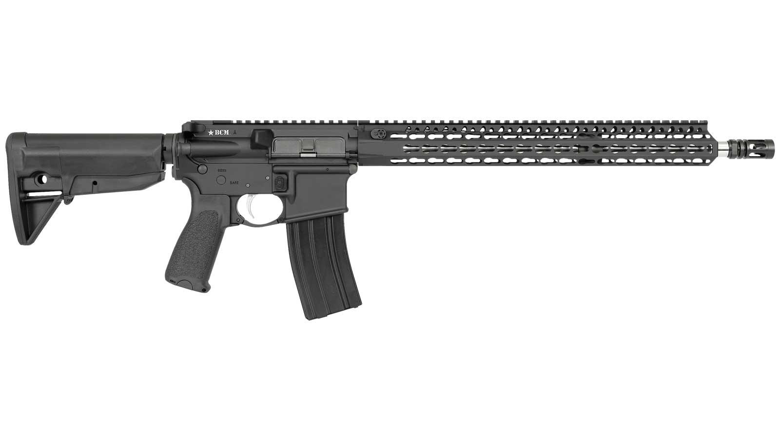 Bravo Company Mfg. Recce KMR-A Black 5.56 16-Inch 30Rd