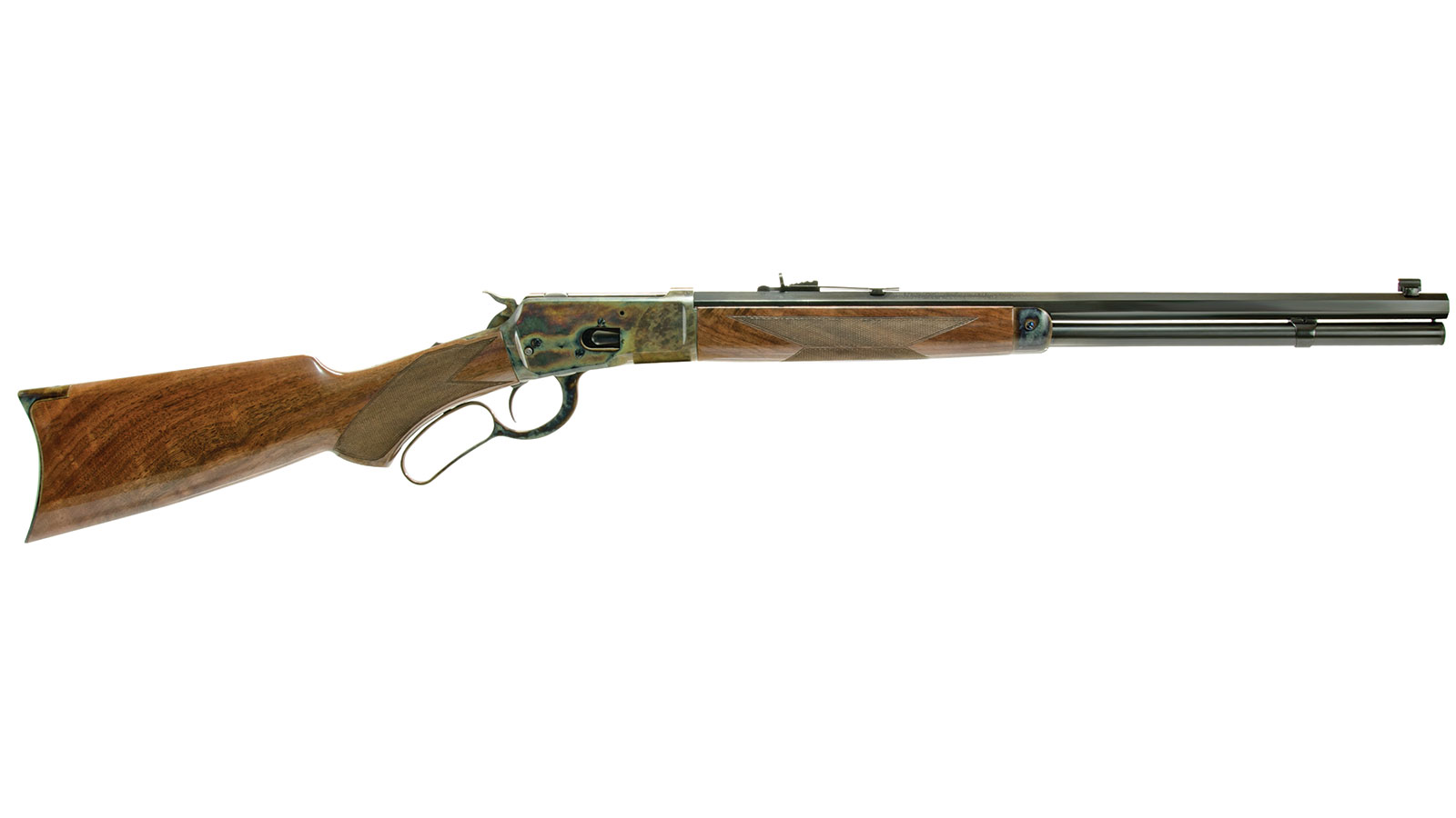 Gibbs Rifle Co NAVY ARMS 1892 WINCHESTER LEVER ACTION Case Hardened .44 Mag 20-inch 10rd