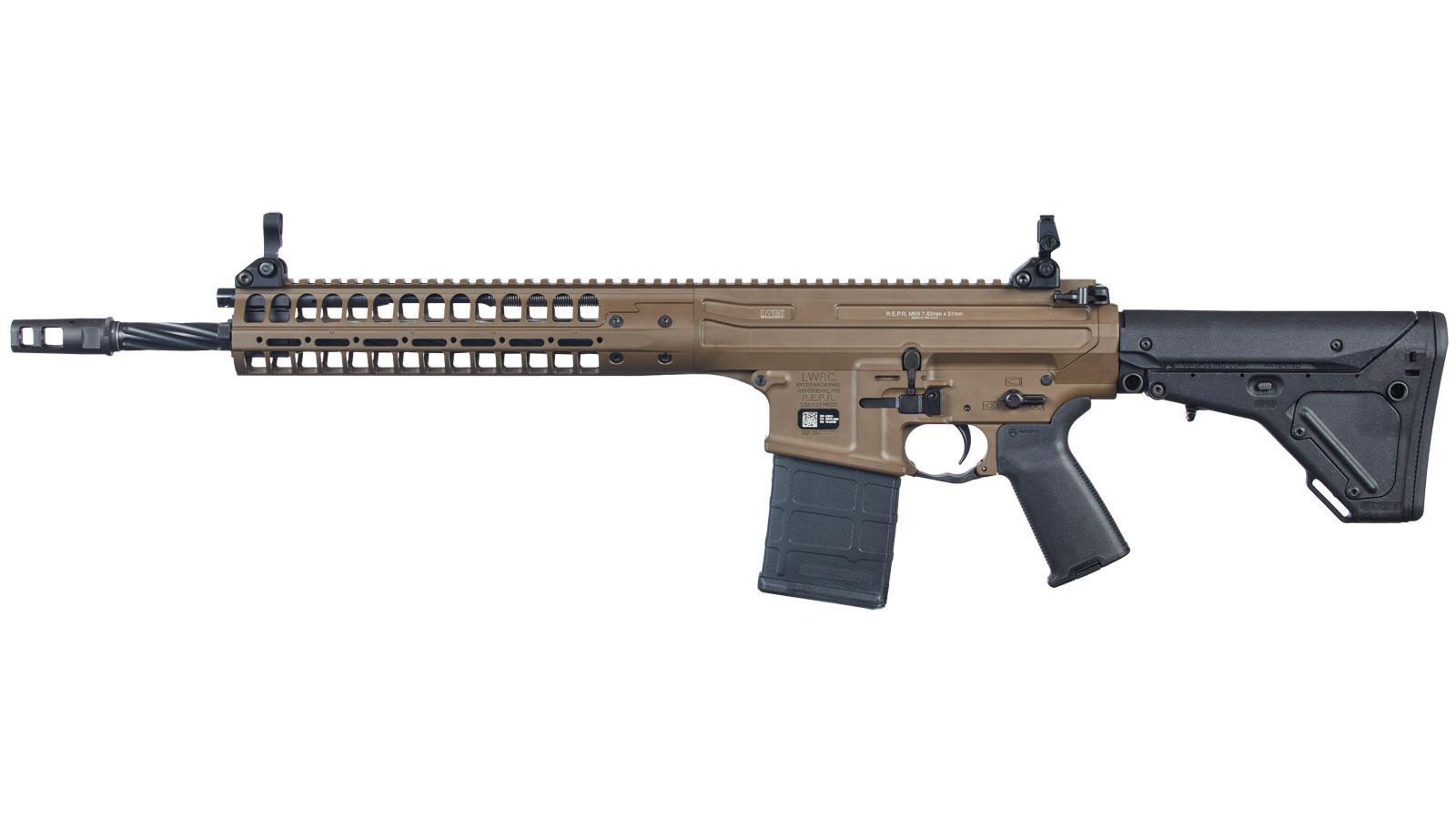 LWRC REPR MKII FDE 7.62 x 51mm| 308 Win 16-Inch 30Rd