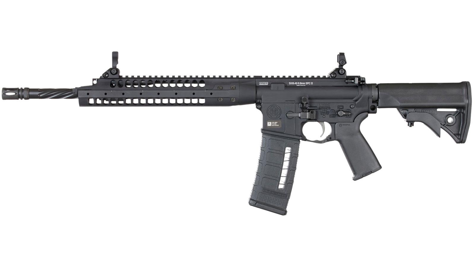 LWRC SIX8-A5 Black 6.8 SPC 16-inch 30Rds
