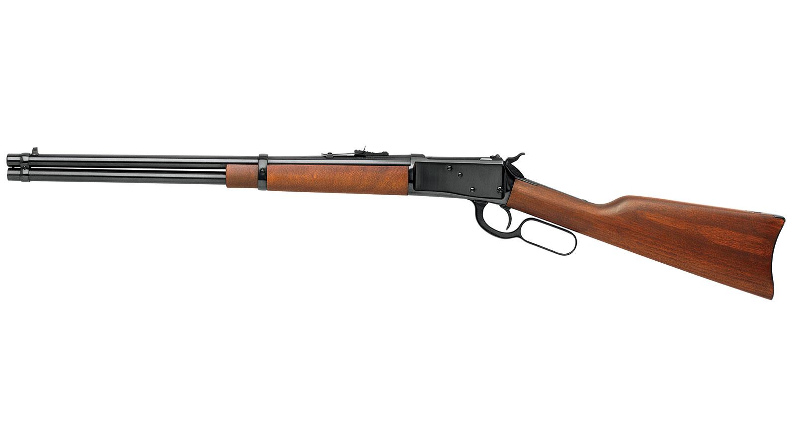 Rossi 923572013 R92 Lever Action Carbine Lever 357 Magnum|38 Special 20 10+1 Brazillian Hardwood Stk Polished Black in.