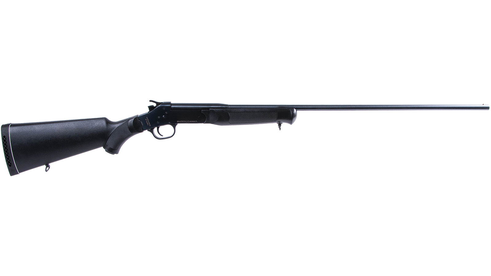 Rossi SS4112811 Single Shot Break Open 410 Gauge 28 3 in.  Black Synthetic Stk Matte Black in.