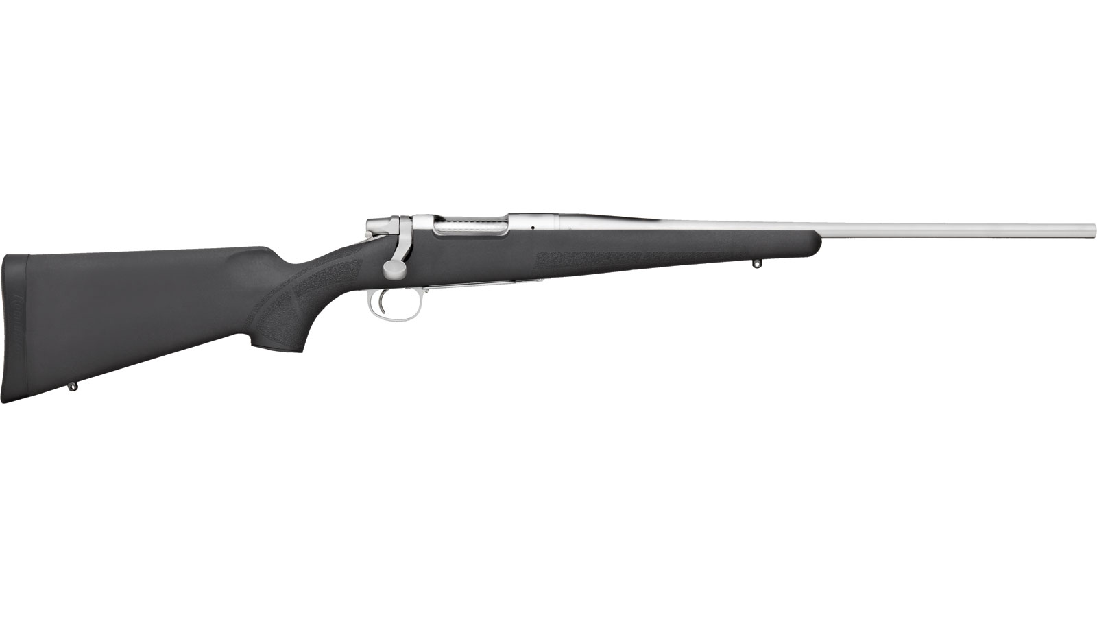 Remington Firearms 85907 Seven Stainless Bolt 6mm Remington 20 4+1 Synthetic Black Stk Stainless in.