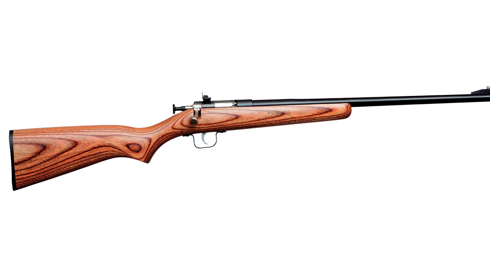 Crickett Gen 2 Bolt Action 22 LR 16.5 Inch 1 Rd Laminate Stock Brown| Black