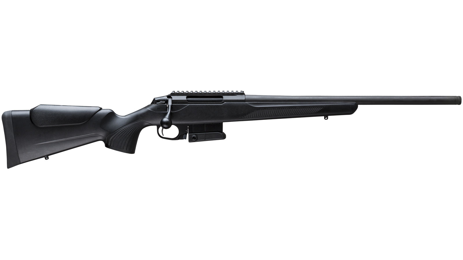 Tikka T3 JRTC382CA T3x Compact Tactical Rifle Bolt 6.5 Creedmoor 24 TB 10+1 Synthetic Black Stk Blued in.