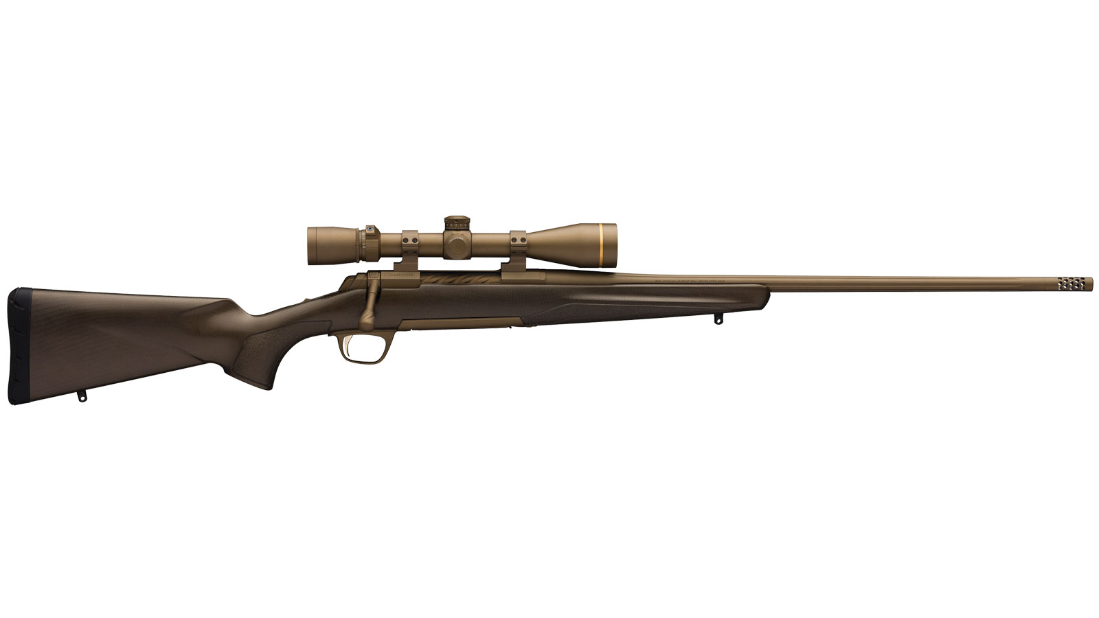 Browning 035418282 X-Bolt Pro Bolt 6.5 Creedmoor 22 3+1 Carbon Fiber Burnt Bronze Cerakote Stk Burnt Bronze Cerakote in.