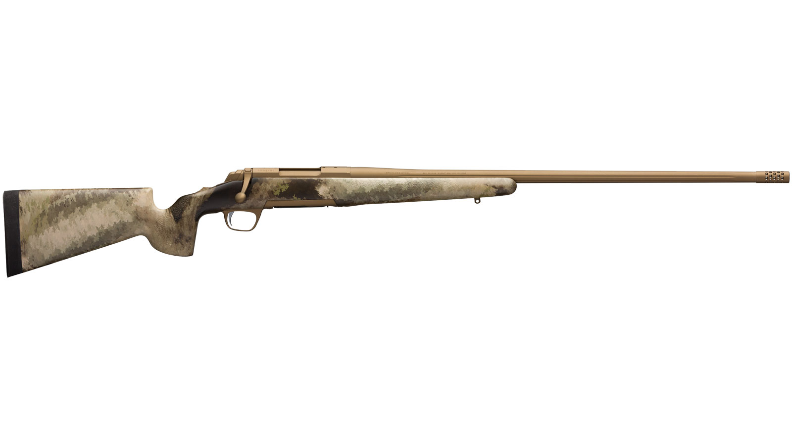 Browning 035395291 X-Bolt Hells Canyon Speed Long Range Bolt 6mm Creedmoor 26 3+1 McMillan Game Scout A-TACS AU Stk Burnt Bronze Cerakote in.